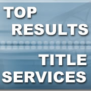 top results custom title company website application